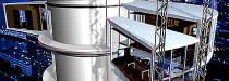 die Technische Gebäudeausrüstung vom Dynamic Tower