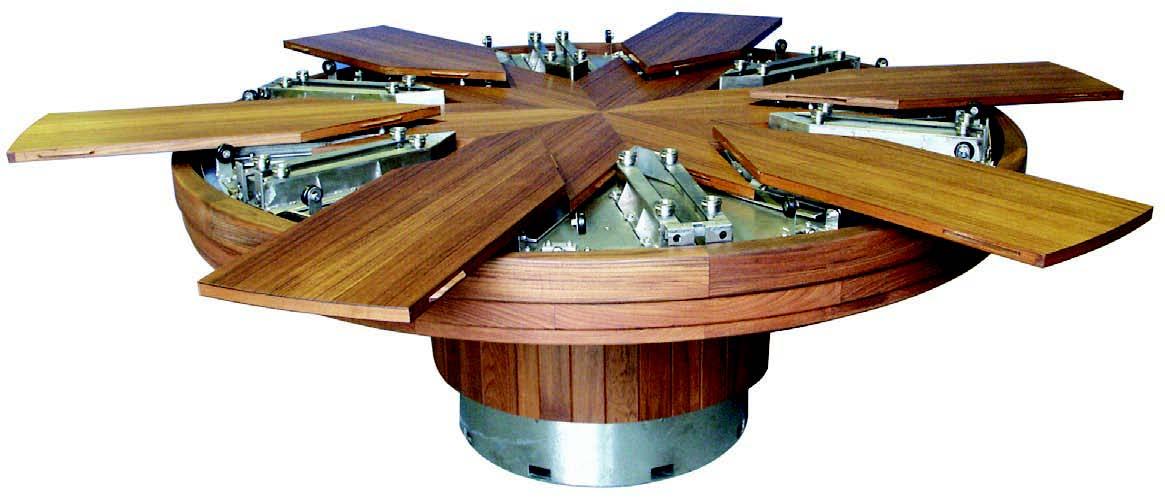 Fletcher Capstan Tables Kineticarchitecture Net