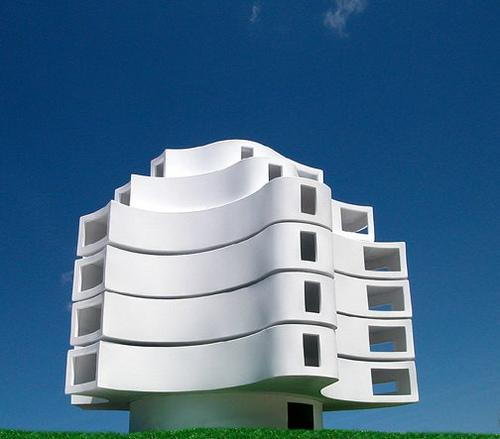 Wind Shaped Pavilion By Michael Jantzen: wind architecture