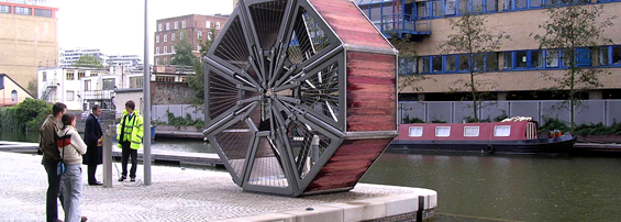 Rolling Bridge in London